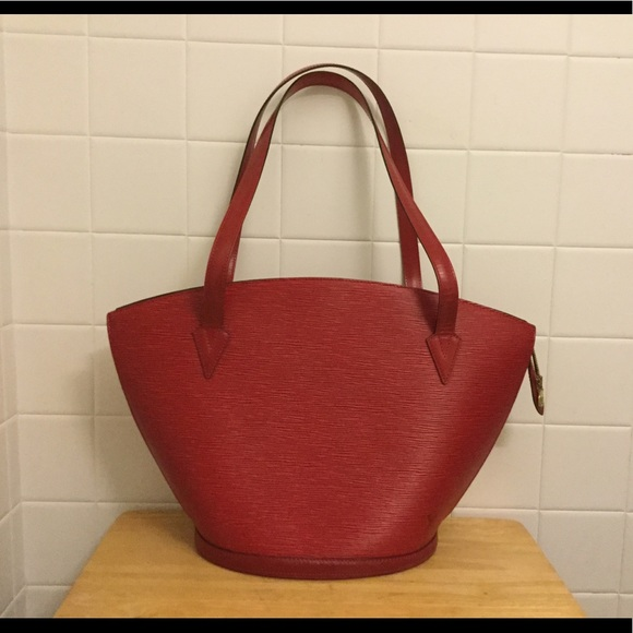 6a18e79b Louis Vuitton St. Jacques Red Epi Leather GM Bag
